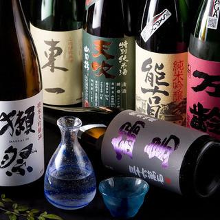 地元佐賀の地酒から全国の旬の地酒まであります!!