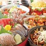 さかなや道場 - 料理写真:大漁コース