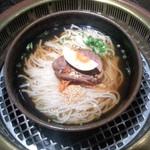 39769553 - 元祖アリラン(大分県別府市北浜)冷麺(中)720円