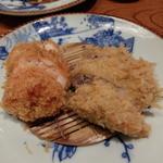 かつ吉 新丸ビル店 - 海老カツとヒレカツ(海老カツとヒレカツ定食)