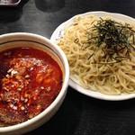 桃天花 - 坦々つけ麺 激辛(350g)790円 ※ランチタイム大盛サービス