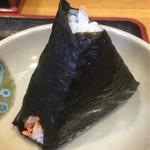 きしめん 寿々木屋 - おにぎりぃ〜!
