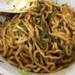 四川亭 - 汁なし担担麺200g(750円)