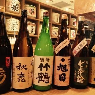 4人の利酒師が厳選する全国の地酒をご用意してます!
