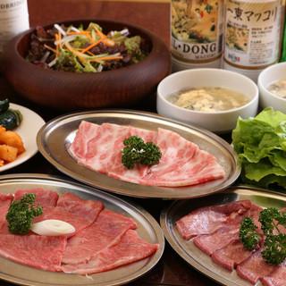 京城自慢の三種がお得に召し上がれる「二人セット」