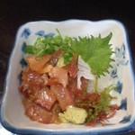 海鮮いづつ - 海鮮いづつ(大分県別府市楠町)りゅうきゅう600円