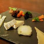le Lien - チーズ盛り合わせ