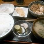 39785633 - 牛肉豆腐定食