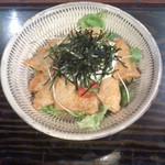 炭火焼亀吉 - 炭火焼亀吉(大分県津久見市)まぐろのアツアツ南蛮丼800円