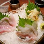 飯綱 - 北海道産直3種盛り ¥950