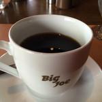 ビッグ・ジョー - 日替わりランチのコーヒー