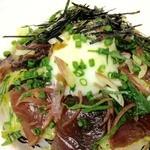 エグザ - [季節限定]カツオのカルパッチョ丼