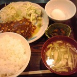 39787697 - ハンバーグ定食 600円(税込)(2015年7月7日撮影)