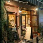 ピッツェリア ダ ティグレ - お店の入り口