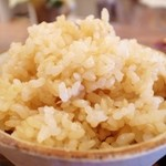 カッフェ トムテ - ごはんは玄米混ぜご飯