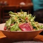 笹吟 - マグロとアボカドのサラダ