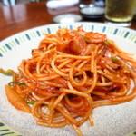 松ちゃん - スパゲッティナポリタン450円