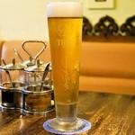 チャイヤイ - 2015.7 タイガー樽生ビール(700円)