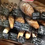 39795739 - こういう硬い系のパン大好きです