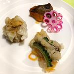 ザ ダイニング 暖琉満菜 - 今日は沖縄料理っぽく~盛りつけてみた!
