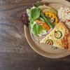 starnet - 料理写真:キッシュと玄米のプレート