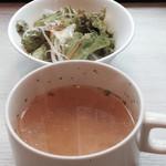 TOKIO - サラダとスープが付きます