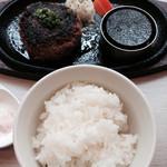 TOKIO - 伊万里牛ハンバーグランチ 170g 1500円(ご飯も170g)
