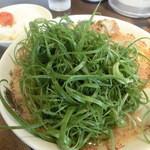 来来亭 - 数量限定・葱ラーメン(907円)