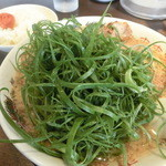 来来亭 - 料理写真:数量限定・葱ラーメン(907円)