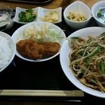 福華 - 日替わり定食 ご飯大盛り 800円
