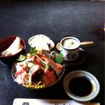 杉すし - 海鮮ちらし寿司ランチ@1,050