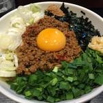 麺屋 とがし - 2015/7/9台湾まぜそば800円大盛り/ニンニク普通