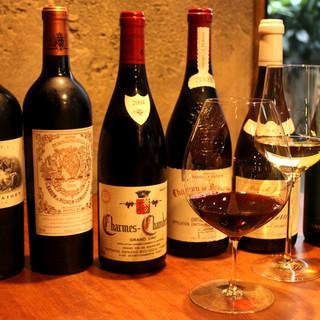 こだわりのワインで思い出に残るひとときを...♪