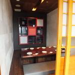 豚肉創作料理 やまと  - 特別個室。予約をしていただくと利用しやすいです。