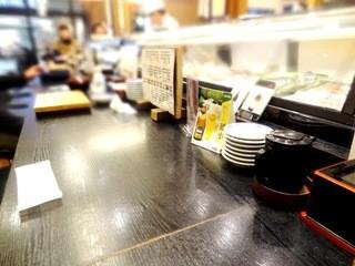 吾妻寿司 岡山駅店 - 2015年2月訪問時撮影