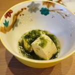 平花とんぼ - 出汁巻き卵の海苔餡掛け