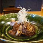 平花とんぼ - ブランド豚と椎茸の焼物・・絶品