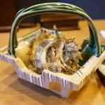 平花とんぼ - もずくの天ぷら