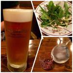 Yakitorikokko - 生ビール・お通し・香住鶴