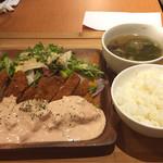 横濱頂食堂 - 鮪のフィレカツ定食