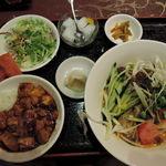 四川厨房 随苑 - タンタン冷麺セット630円
