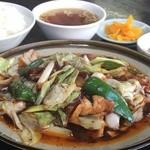 中華料理 吾作 - 回鍋肉定食