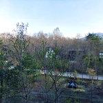 軽井沢倶楽部 ホテル軽井沢1130 - 客室からの眺め(浅間山がちょっぴり見えました)