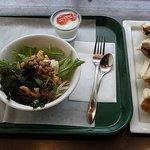 鞍馬サンド - 2010/5月:最後の食べ納めのランチセット(890円)+鞍馬(420円)