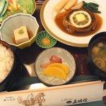 レストラン五明館 - ビフテキ定食