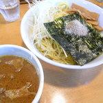 麺魂 - 油かすつけ麺