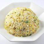 らー麺 藤平 - 焼き飯:人気のサイドメニューです。