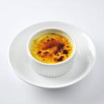 らー麺 藤平 - 焼きプリン:藤平伝統の人気デザートです。