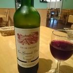 くすのき亭 - 赤ワイン(レ・ブランデュック)