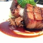 ビストロ ブールブラン - 料理写真:もち豚のソフトステーキ